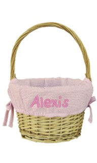 Pink Medium Easter Basket