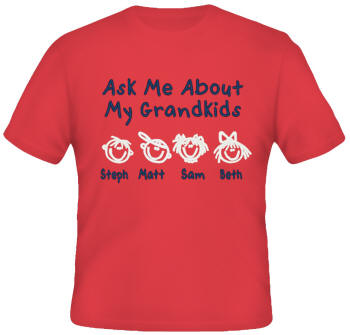 Ask Me Embroidered Family Shirt