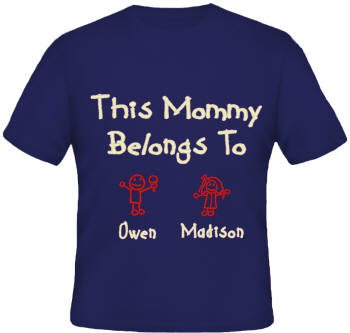 Belongs To Embroidered Family Shirt
