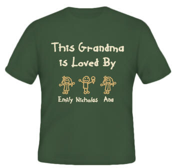 Is Loved By Embroidered Family Shirt