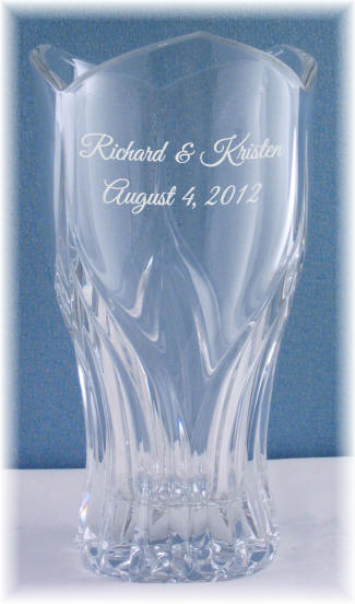 Personalized 10 12 In Ancona Vase