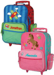 Stephen Joseph Personalized Rolling Luggage