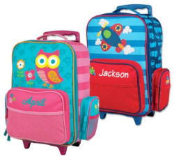 Personalized Stephen Joseph Children's Rolling Luggage