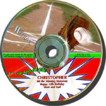 Baseball Personalized Play by Play CD