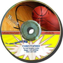Basketball Personalized Play by Play CD