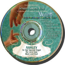 Jesus Loves You Kids Personalized Music CD