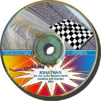 Nascar Personalized Driving CD