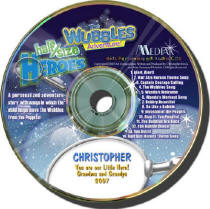 Wubbles  Personalized Music CD