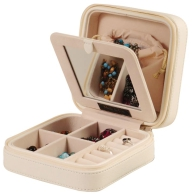 Square Travel Jewelry Box