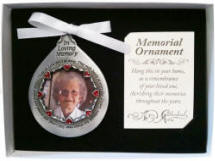 Those We Love Memorial Photo Ornament