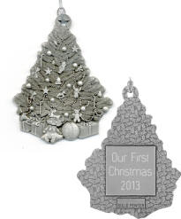 Christmas Tree Pewter