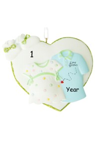 Love Grows Pregnancy Ornament
