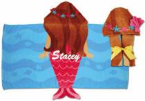 Stephen Joseph Hooded Towel Mermaid