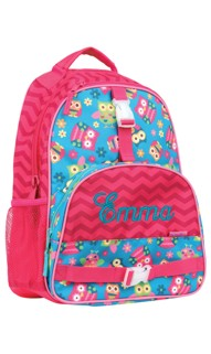 Personalized Owl AOP Backpack