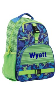 Personalized Shark AOP Backpack