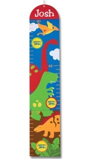 Personalized Dino Growth Chart