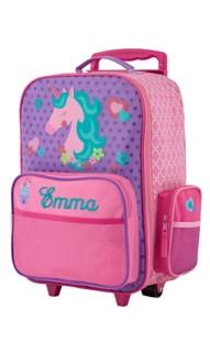 Rolling Luggage Unicorn