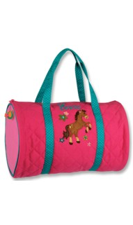 Horse Quilted Duffle