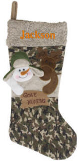 Gone Hunting Stocking