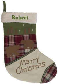 Personalized Bear Wildlife Stocking