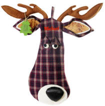 White Tail Deer Christmas Stocking