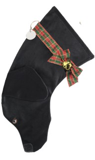 Hearth Hounds Personalized Black Lab Christmas Stocking