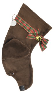 Hearth Hounds Personalized Chocolate Lab Christmas Stocking