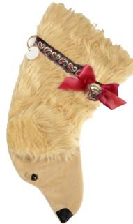 Personalized Golden Retriever Christmas Stocking
