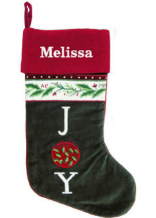 JOY Christmas Stocking