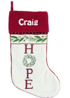 HOPE Christmas Stocking