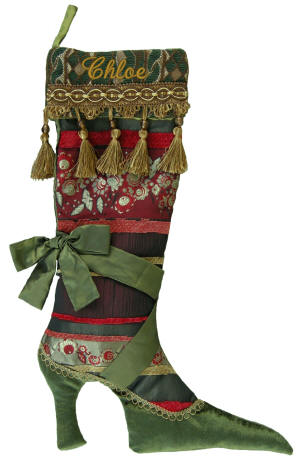 unique christmas stocking ideas fancy shoe christmas stockings for her