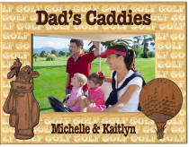 Personalized Hardwood Dad's or Grandpa's Caddies Fr