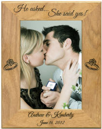 Engagement Frame with Rings