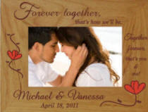 Personalized Forever Together Engraved Frame