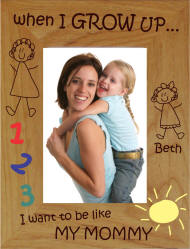 Personalized Like Mommy Photo Frame