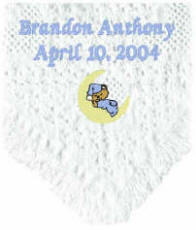 Personalized Baby Afghan