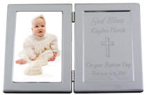 Engraved Frame for Religious Occasion