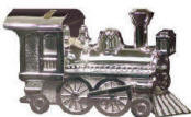 Silver Colored Train Bank