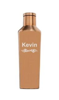 Personalized 16oz. Brushed Copper Canteen