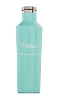 Personalized 16oz. Gloss Turquoise Canteen