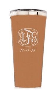Personalized 16oz. Brushed Copper Tumbler