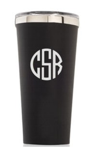 Personalized 16oz. Matte Black Tumbler