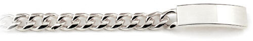 Speidel Men's Fashion ID Bracelet
