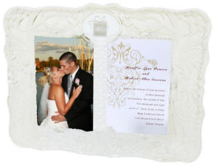 Cherished Moment Invitation & Photo Frame