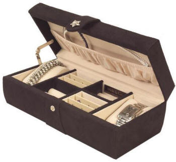 Jewelry Travel Cases & Leather Jewelry Boxes - Great Gift