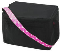 Black Polka Lunch Box