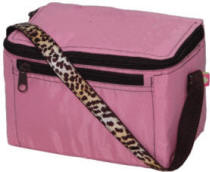 Pink Cheetah Lunch Box