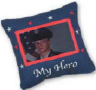 my hero picture pillow