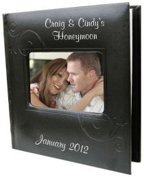 Personalized Black Photo Album
