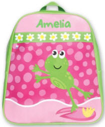 Pink Froggy Kids Backpack